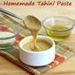 Easy Homemade Tahini Paste