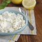 Homemade Meyer Lemon Ricotta Cheese from One Hour Cheese