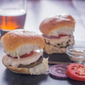 Indian Spiced Sliders with Curried Mayonnaise