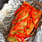 Easy Grilled Pesto Salmon in Foil Recipe