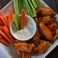 Buffalo Chicken Wings and Blue Cheese Dip: Without the Fryer