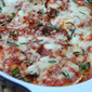 Easy Baked Ravioli with Italian Sausage