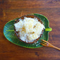 Steamed Tapioca/Cassava Kuih With Coconut