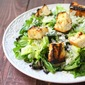 Summertime Cooking with Epicurean Butter: Grilled Caesar Salad with Roasted Garlic and Herb Croutons