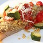 Italian Salsa Topped Fish Recipe