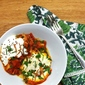 Shakshuka – (Eggs poached in a spicy tomato sauce)
