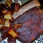 Crock Pot Ribs and the Blue Potato.