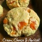 Cream Cheese & Apricot Scones