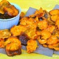 Sweet Potato Chips with Apple Butter ~ Microwave Easy