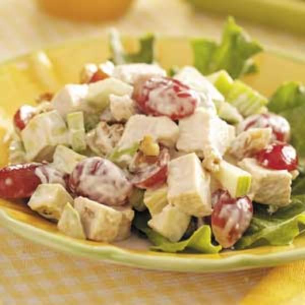 Chicken Avocado Salad Recipe by Robyn - CookEatShare