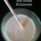 AIP Dairy Free Strawberries and 'Cream' Milkshake