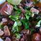 Slow Cooker Brazilian Feijoada - Pork and Black Bean Stew