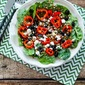 Recipe for Spinach Salad with Bacon Dressing (Low-Carb, Gluten-Free, Can Be Paleo)