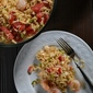 Shrimp, Feta, Tomato and Orzo Salad