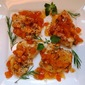 Yogurt-and-Herb-Marinated Chicken with Dried-Apricot Sauce