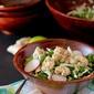 Crunchy Kale Salad Recipe with Popcorn Shrimp {giveaway}
