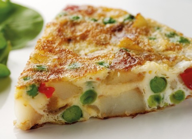 Breakfast Potato Omelette Recipe by Shalina - CookEatShare