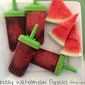 Blackberry Watermelon Popsicles
