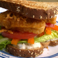 Crunchy Fish Less Sandwich with Homemade Tarter Sauce