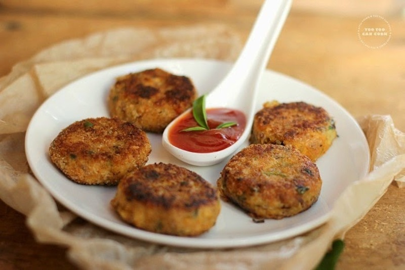 Fish cutlet fish tikki indian style fish cakes for Gluten free fish breading