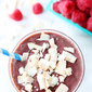 Raspberry Coconut Smoothie