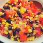 Roasted Corn, Fresh Tomato and Black Bean Salad