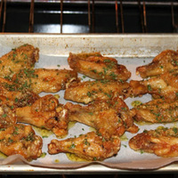 Baked Garlic Wings