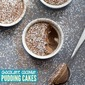 Chocolate Coconut Pudding Cakes