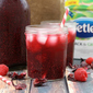 Hibiscus-Raspberry Black & Green Iced Tea w/ Chia Seeds #TetleyUSA