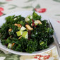 Massaged Kale Salad with Apples, Cranberries, and Nuts