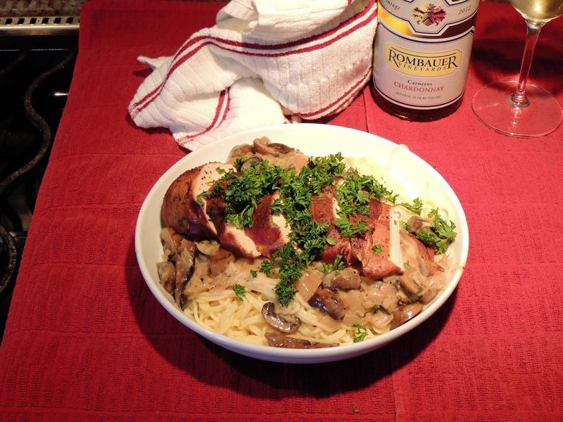 Chicken Saltimbocca With Mushroom Marsala Sauce Recipe by ...