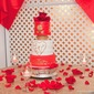 Red, Gold and White Wedding Cake