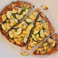 Corn, Zucchini, and Onion Flatbread