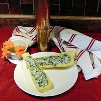 Cream Cheese, Spinach & Artichoke Stuffed Tomatoes