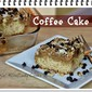 Coffee Cake With Crumb Topping