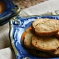 Parmesan & Thyme Crackers for #InaFriday