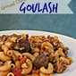 Ground Chicken Goulash