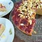 Almond Chestnut CHERRY upside down cake
