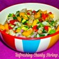 Weekend Gourmet Flashback...Featuring Refreshing Chunky Shrimp Salsa