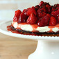 Strawberry Tart with Chocolate Ganache and Mascarpone Cream