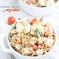 Caprese Chicken Orzo Salad