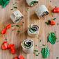 Vegetarian Pesto & Olive Pizza Roll-Ups Recipe