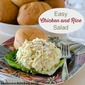 Easy Chicken and Rice Salad