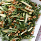 Zucchini and Walnut Arugula Salad with Basil Vinaigrette {and $100 Food Network Store Giveaway}