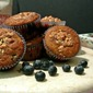 Almond Coconut Blueberry Muffins {Low Carb}