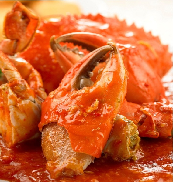 Chili Crab in Thick Spicy Sauce Recipe by Shalina ...