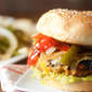 Chicken Fajita Burgers