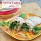 Quinoa Hummus Wrap {vegetarian}
