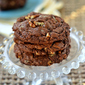 Giant Chocolate Toffee Pecan Cookies