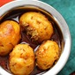 Kashmiri Dum Aloo (Potatoes cooked in aromatic spices-an authentic Kashmiri dish)